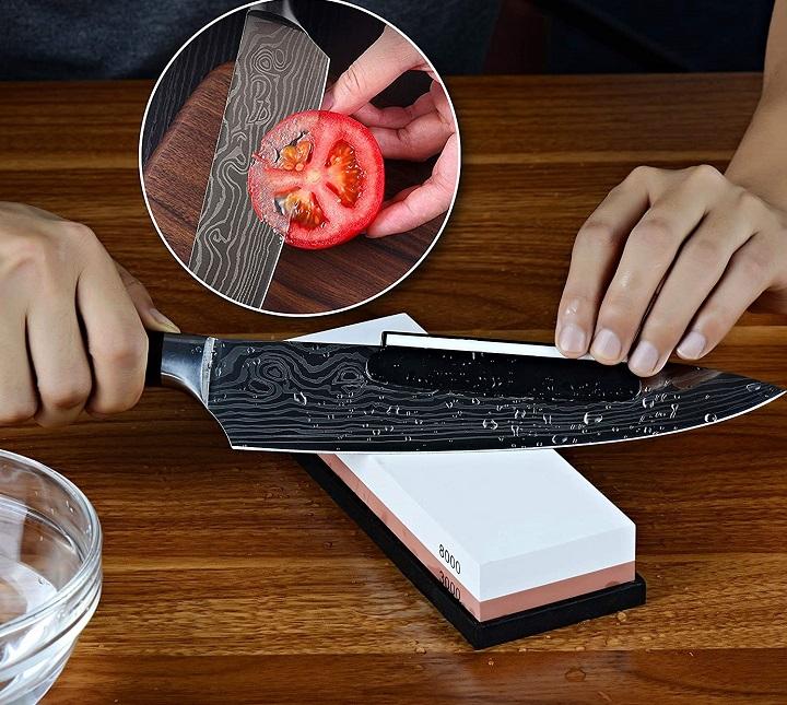 How to sharpen shun knives