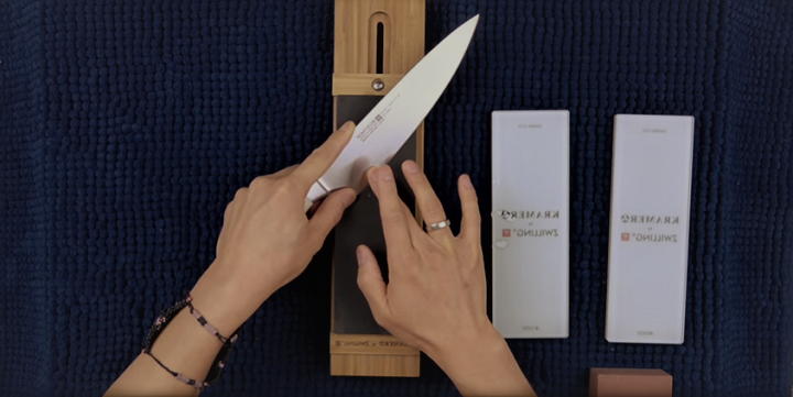 How to sharpen your WUSTHOF knife