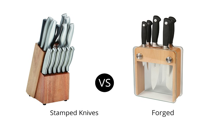 Forged Vs. Stamped Knives